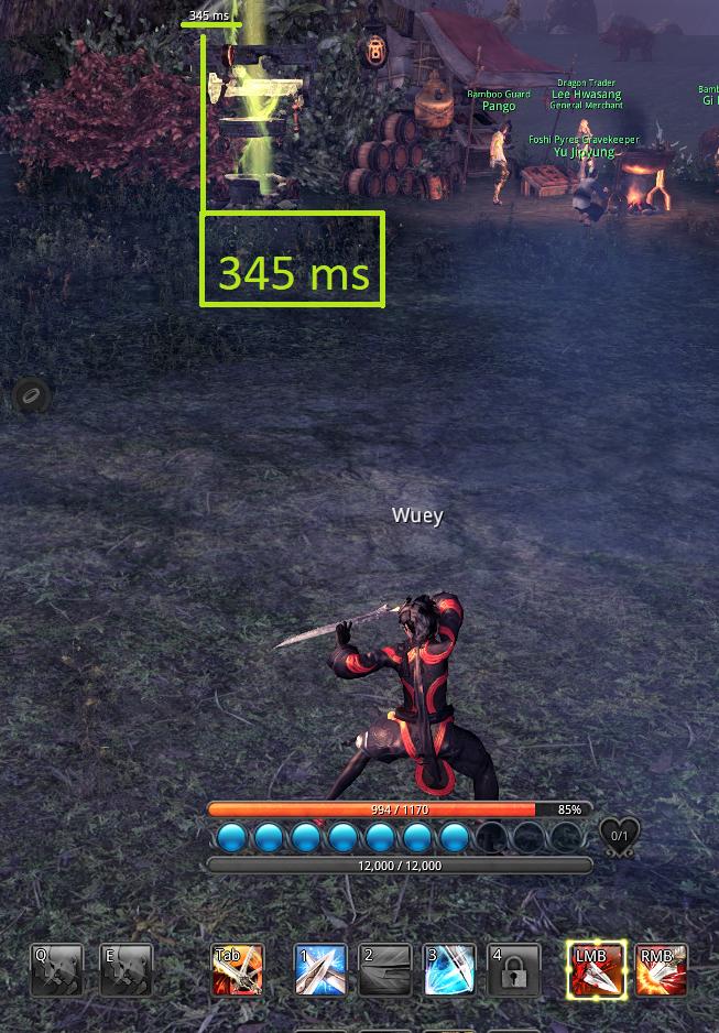 Blade and Soul lag