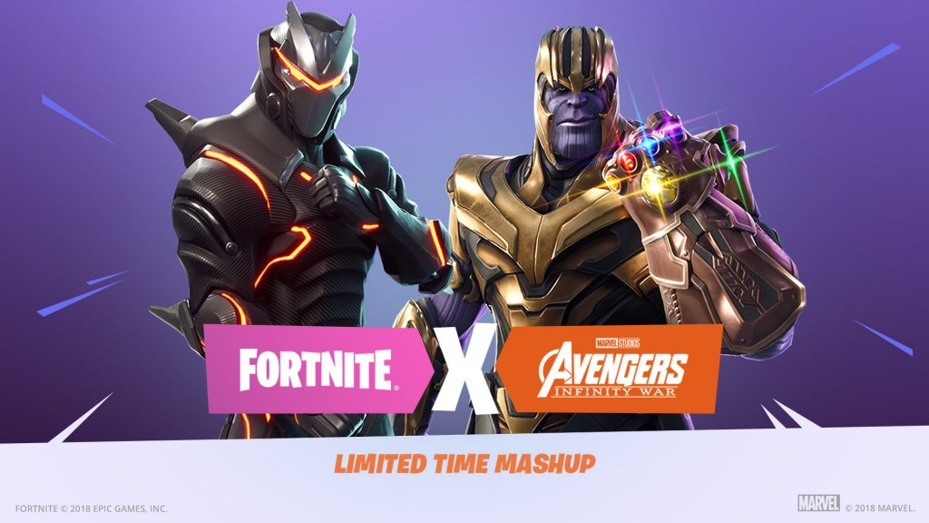 Fortnite and avengers