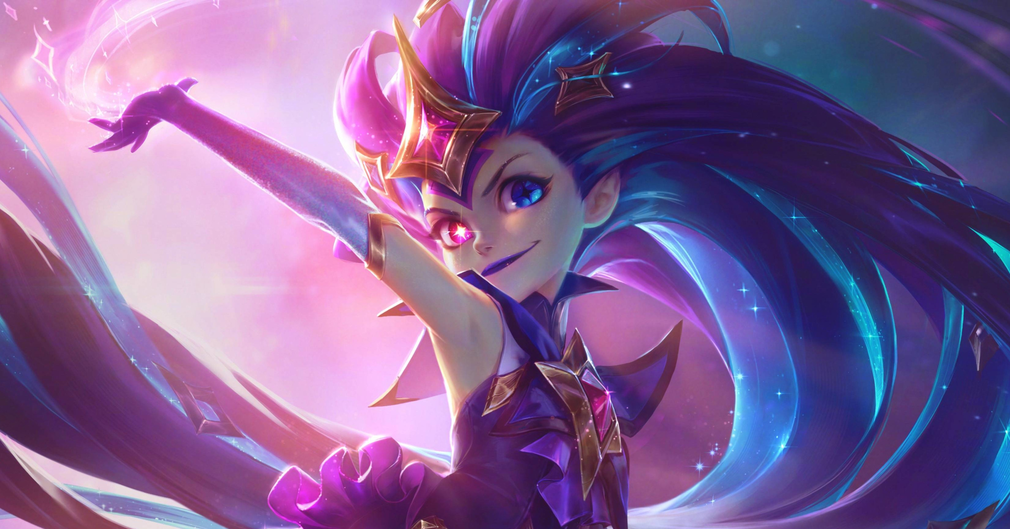 ZOE GUARDIÃ ESTELAR LEAGUE OF LEGENDS
